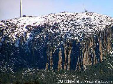 威灵顿山(Mount Wellington)